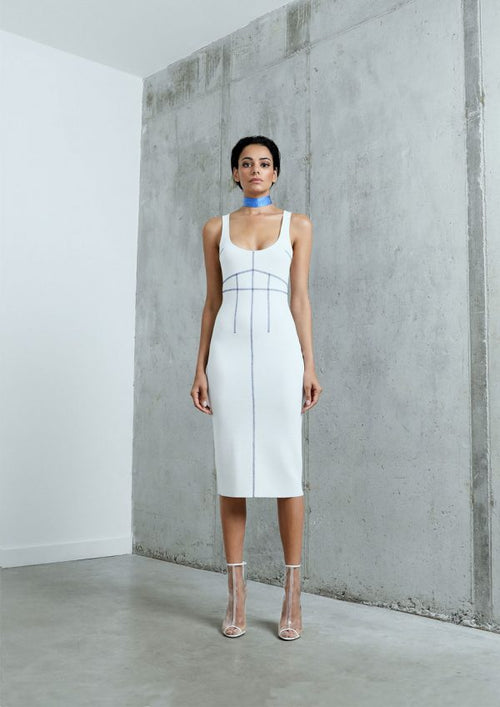 "THE ""STITCH"" KNIT MIDI DRESS"