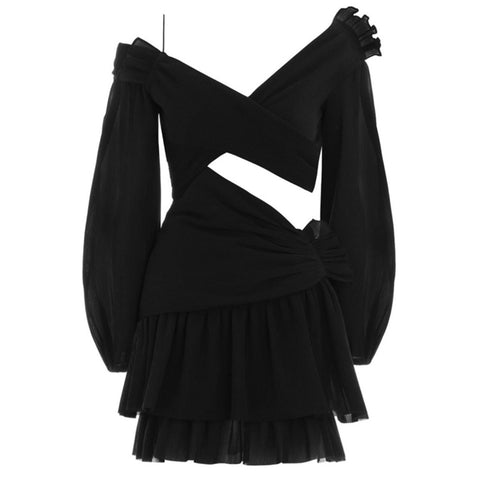 Molly Black Dress - SALE
