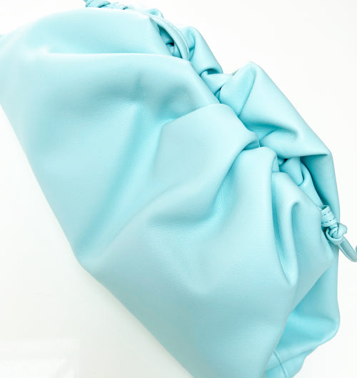 Soho Clutch Bag - Baby Blue
