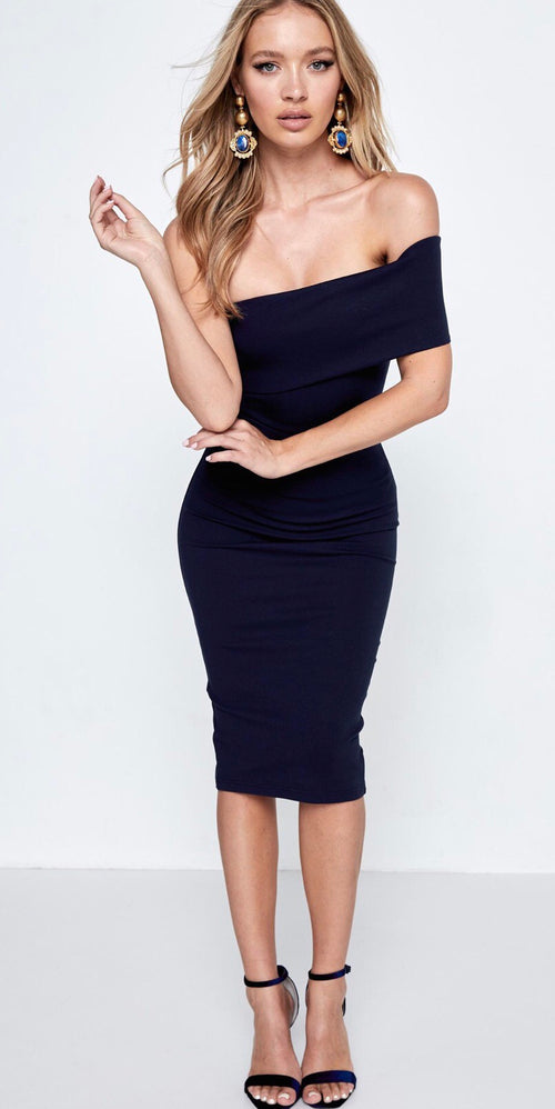 Midnight Dress - Navy