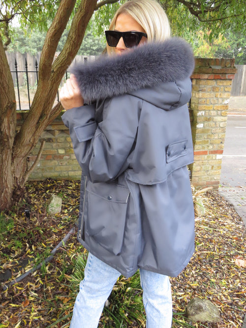 Willow Grey Parka