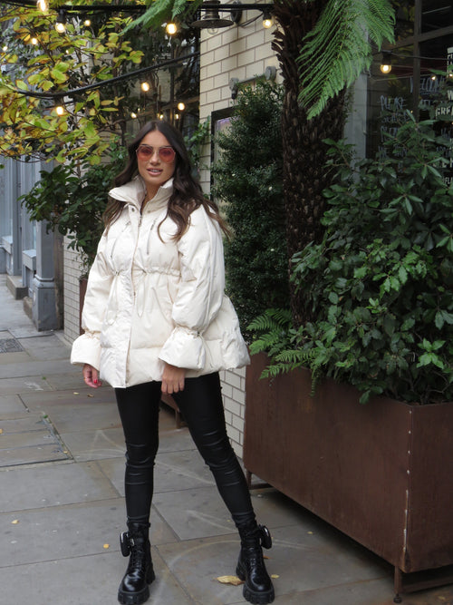 River Cream Parka