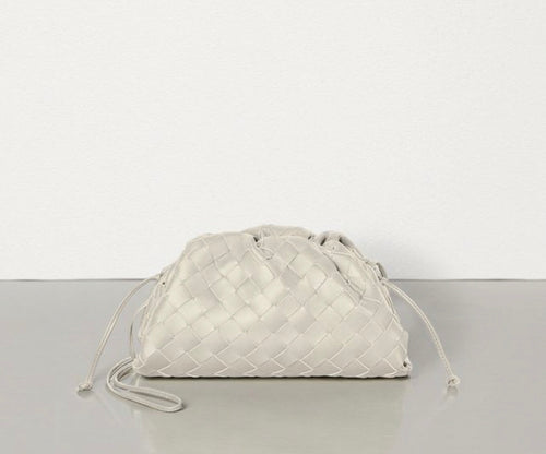 Soho Mini Knott Bag - Off white