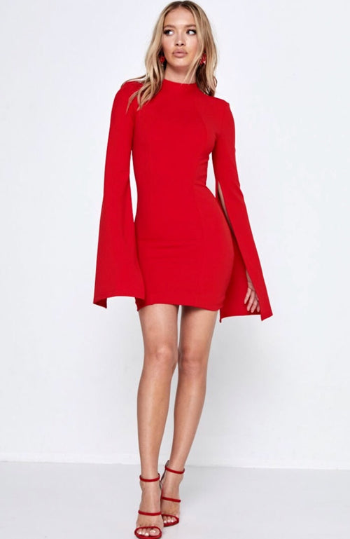 Limelight Dress - Red
