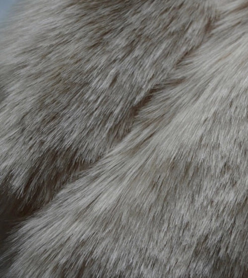 Grey Kids Faux Fur Gillet
