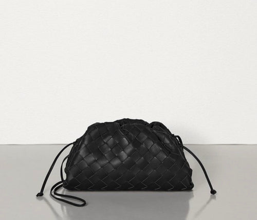 Soho Mini Knott Bag - Black