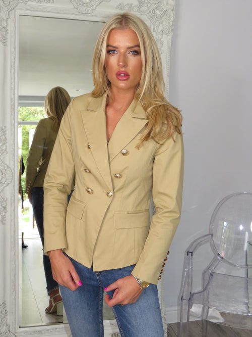 SAMPLE SALE - Blazer in beige
