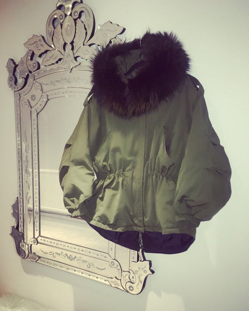 Down Parka  - Green