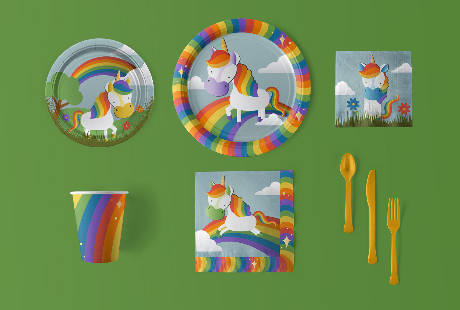 Unicorn Party Ideas Party Supplies