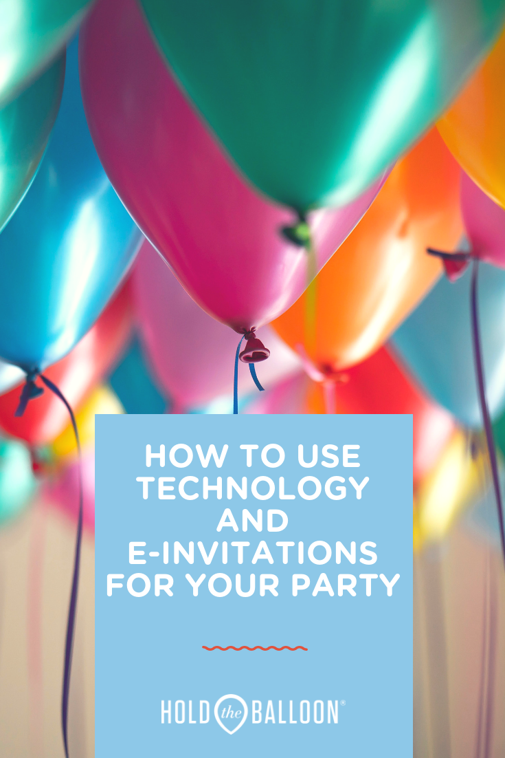 How to use technology and e-invitations for your party