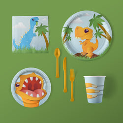 Cake-A-Saurus Dinosaur Party Pack