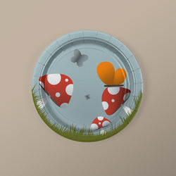 Woodland Creature Party Dessert Plates