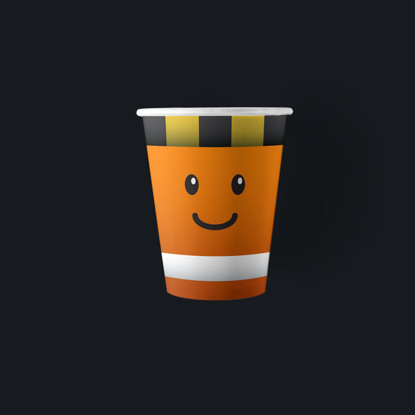 9 ounce Construction Party Paper Cups