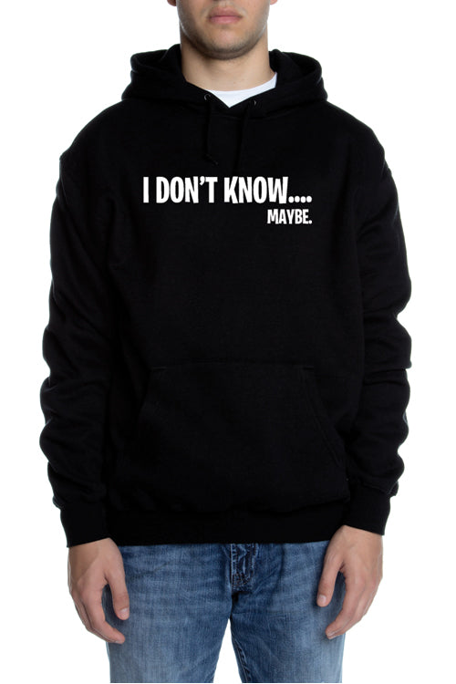 Typical Teen Men's Hoodie Black - COTTONHOOD