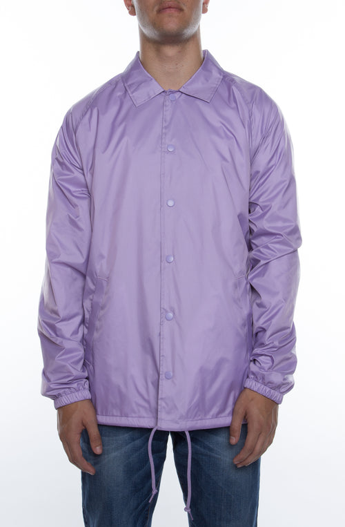 Coaches Jacket Lavender Lilac