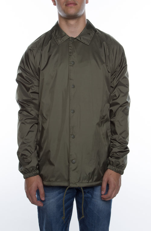 Coaches Jacket Army - COTTONHOOD