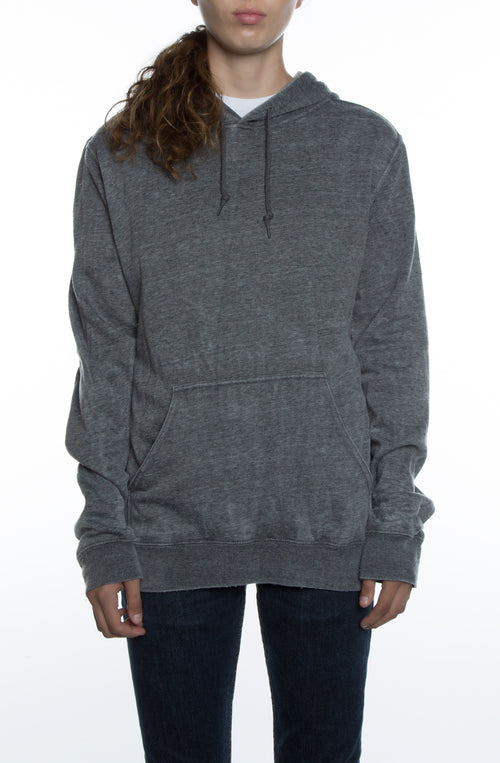 Women's Vintage Hoodie Black - COTTONHOOD