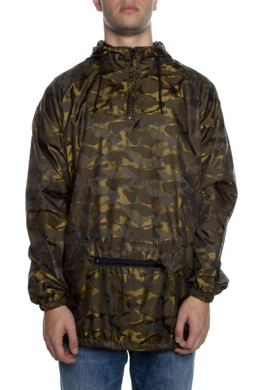 Packable Anorak 3D Pullover Jacket New Gold - COTTONHOOD