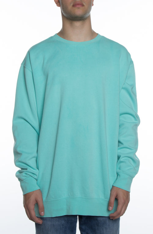 Men's Pigment Dyed Crew Tiffany