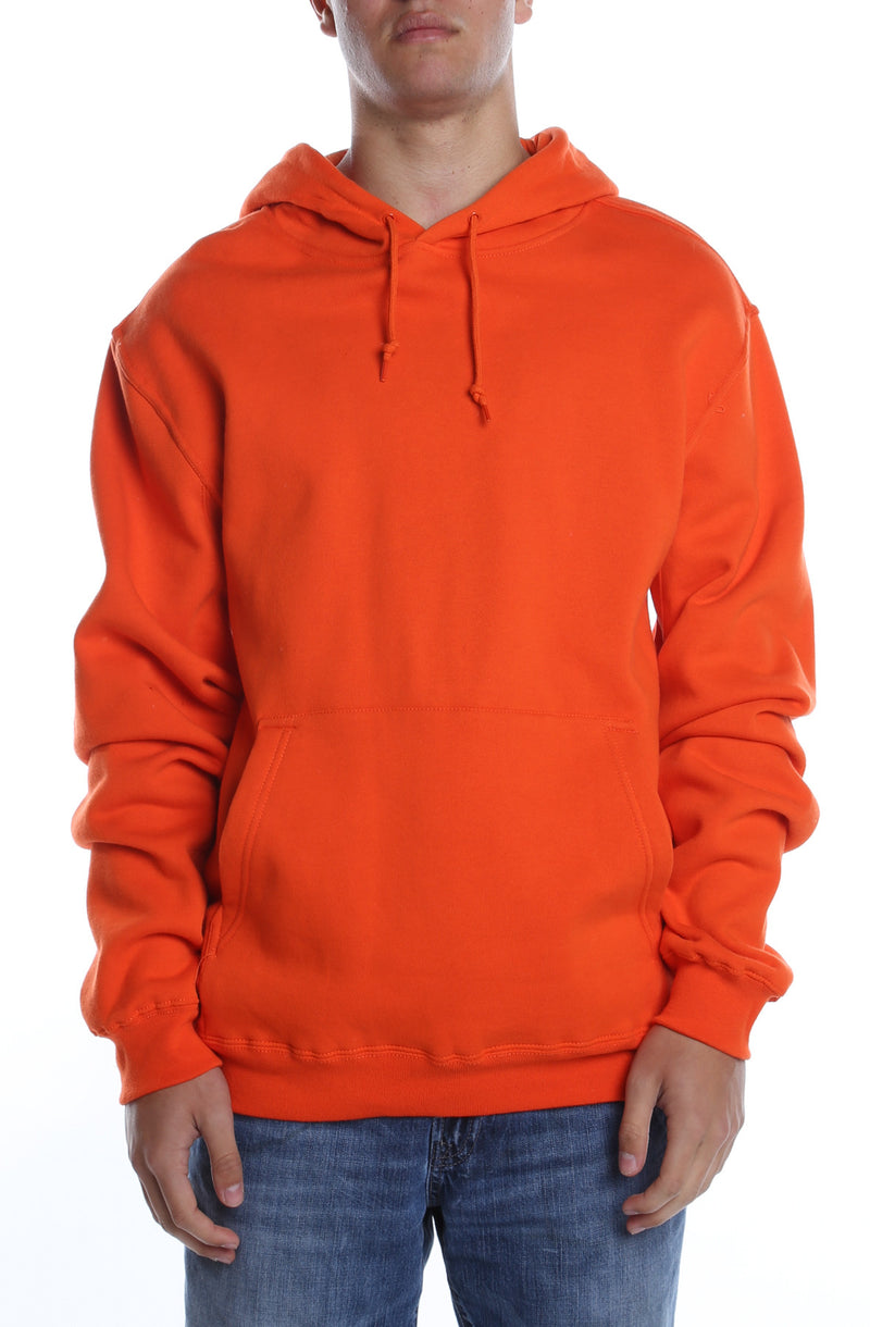 Men's Basic Hoodie New Orange - COTTONHOOD