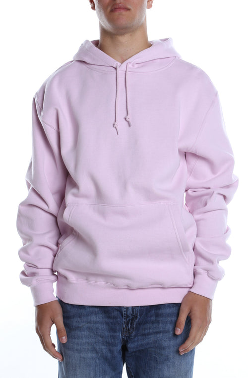 Men's Basic Hoodie Pink - COTTONHOOD