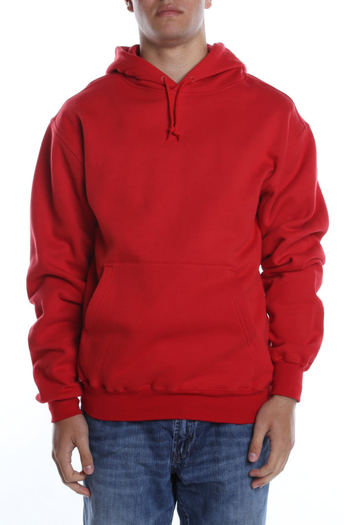 Men's Basic Hoodie Scarlet - COTTONHOOD