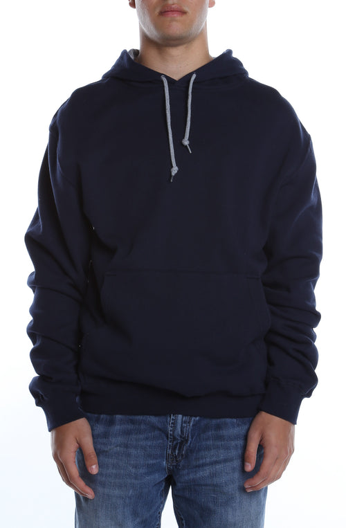 Collegiate Contrast Hoodie Deep Navy/Heather Grey