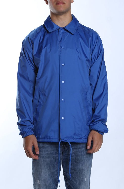 Coaches Jacket Royal - COTTONHOOD