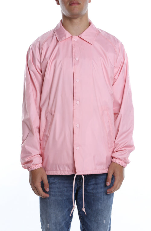 Coaches Jacket Pink