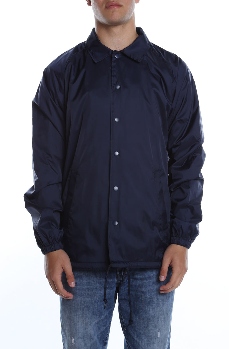 Coaches Jacket Deep Navy - COTTONHOOD
