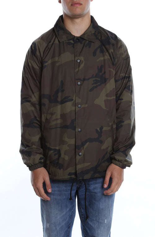 Coaches Jacket Camo - COTTONHOOD