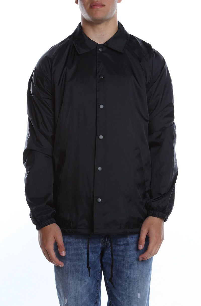 Coaches Jacket Black - COTTONHOOD