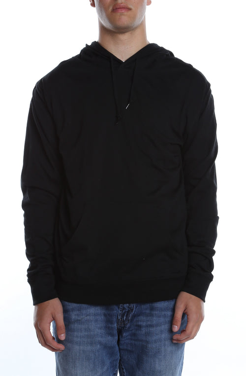 Men's Beach Jersey Hoodie Black