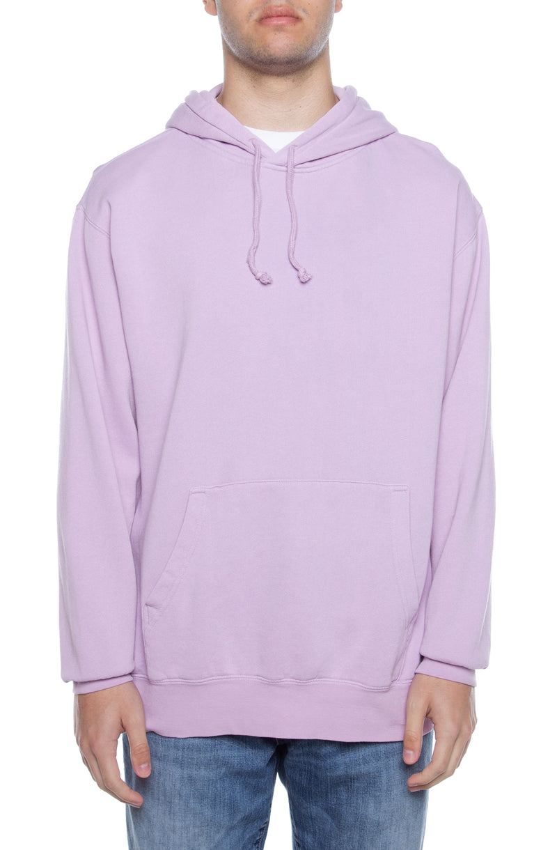 Pigment Dyed Hoodie Lavender - COTTONHOOD
