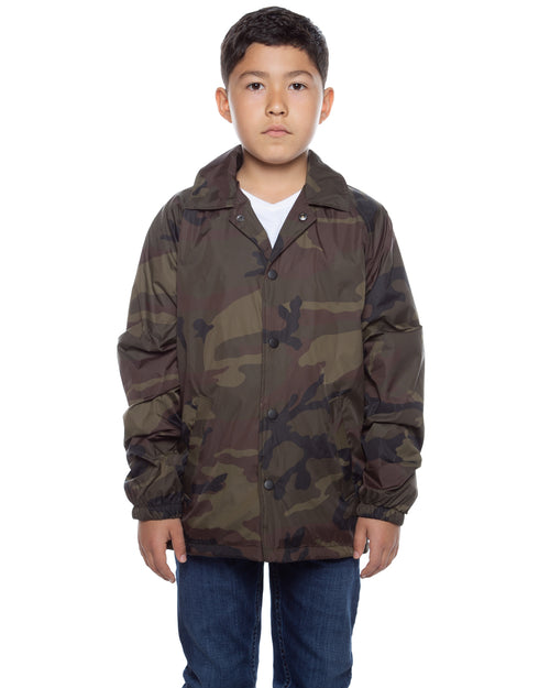Youth Coaches Jacket Camo - COTTONHOOD