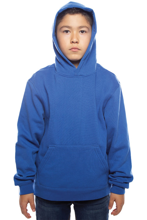 Youth Pullover Hoodie Royal - COTTONHOOD