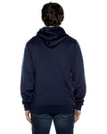 Air Layer Tech Zip Hoodie Navy - COTTONHOOD