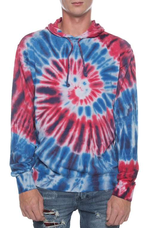 Beach Jersey Hoodie Pigment Dyed USA - COTTONHOOD
