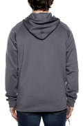 Air Layer Tech 1/4 Zip Hoodie Grey - COTTONHOOD