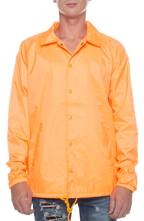 Coaches Jacket Orange - COTTONHOOD