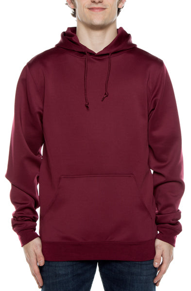 Air Layer Tech Pullover Hoodie Maroon - COTTONHOOD