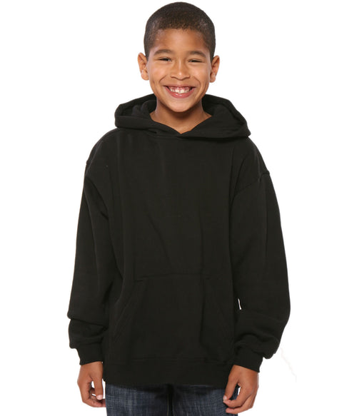 Youth Pullover Hoodie Black