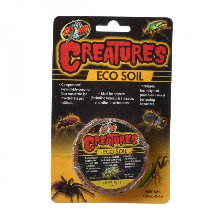 Zoo Med Creatures Eco Soil 1.59 oz (45 g)