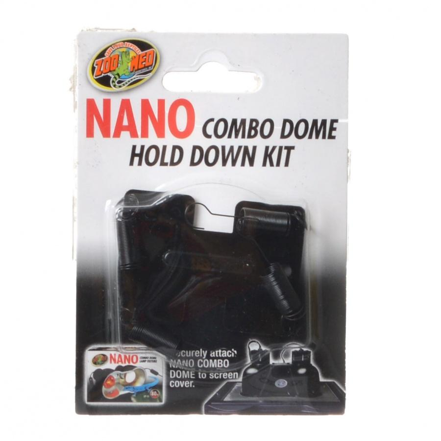 Zoo Med Nano Combo Dome Hold Down Kit Reflectors & Domes Zoo Med 1 Pack