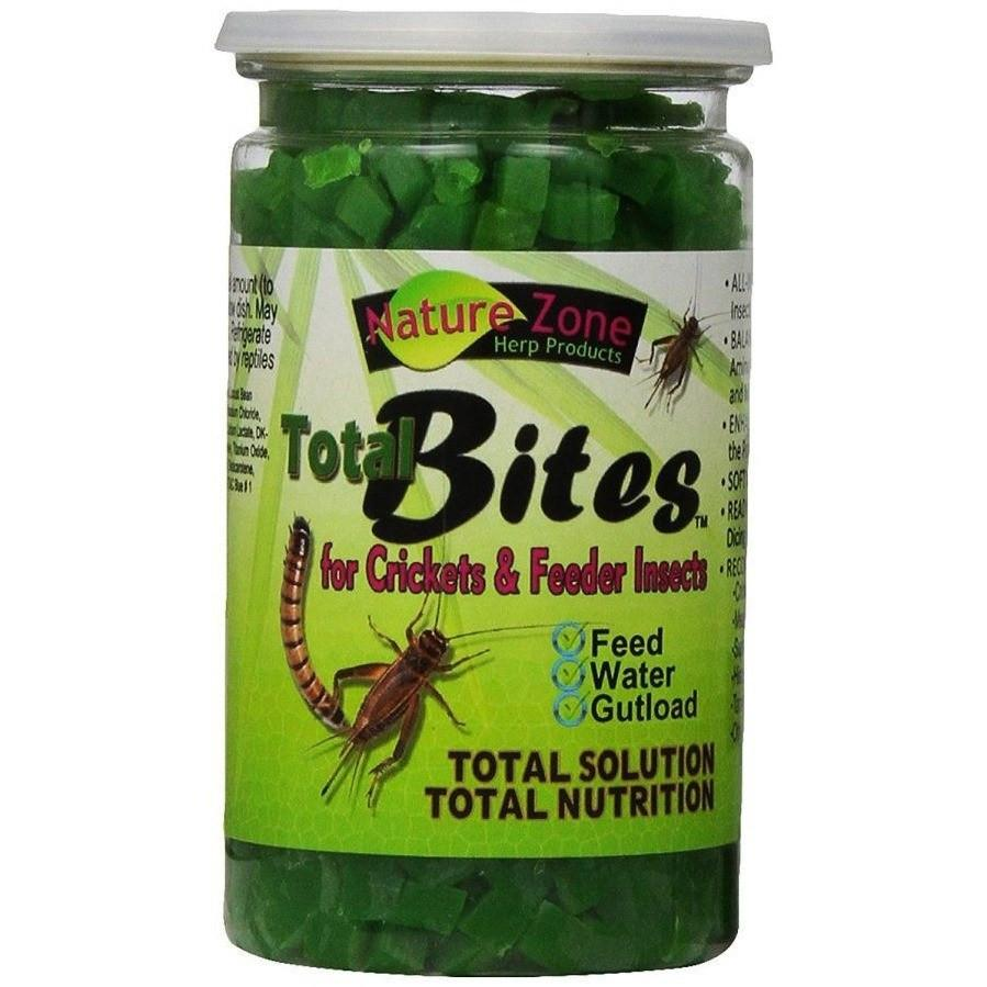 Nature Zone Total Bites for Feeder Insects 2 oz