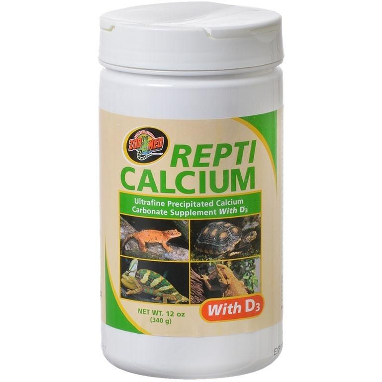 Zoo Med Repti Calcium With D3 Supplements Zoo Med 12 oz