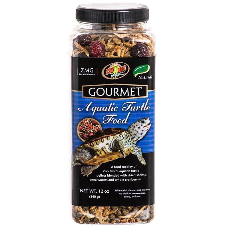 Zoo Med Gourmet Aquatic Turtle Food Foods Dry Zoo Med 12 oz