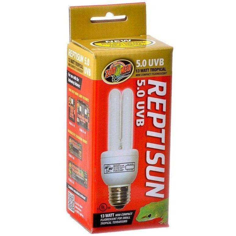 Zoo Med Zoo Med ReptiSun 5.0 UVB Mini Compact Flourescent Replacement Bulb