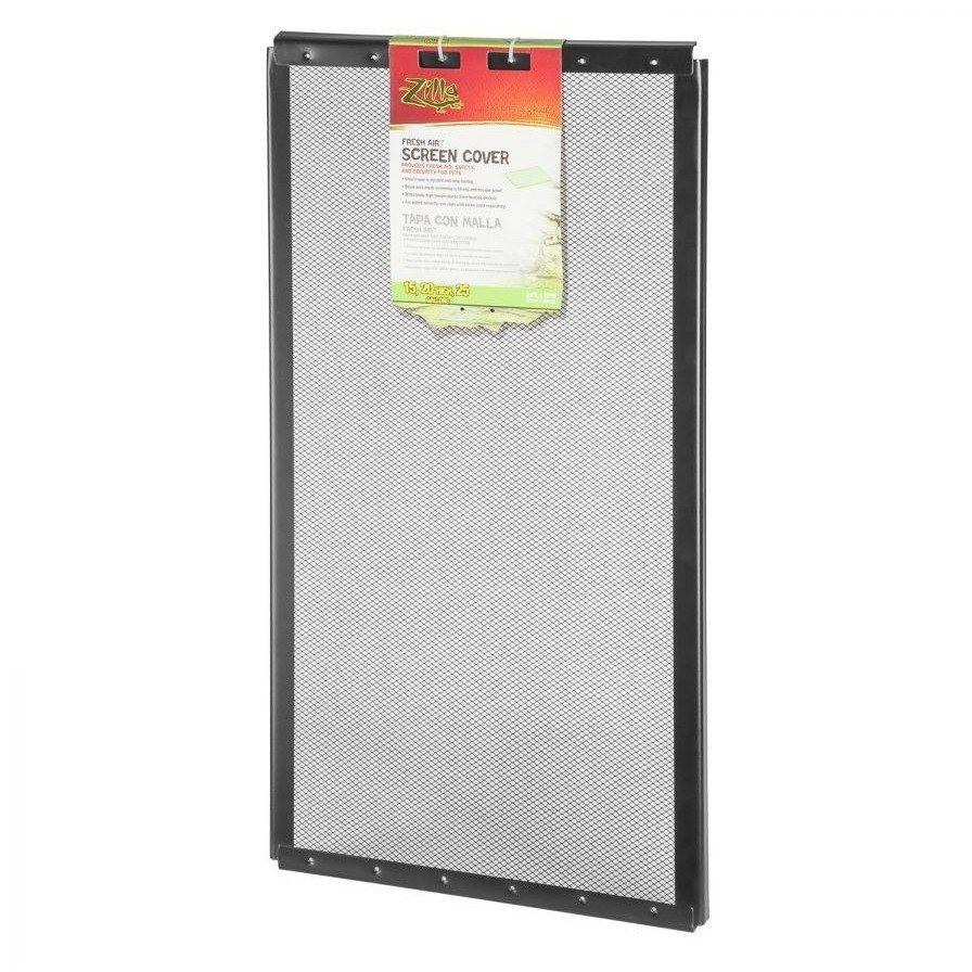 "Zilla Fresh Air Fine Mesh Screen Cover 10 Gallon Tank (20"" Long x 10"" Wide)"