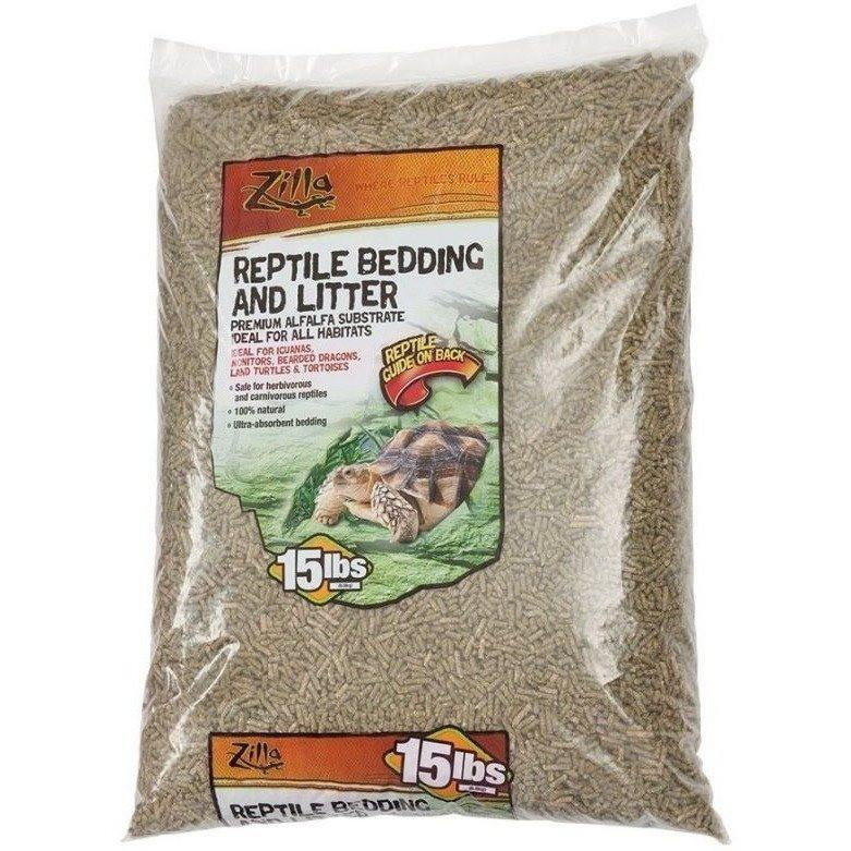Zilla Reptile Bedding & Litter - Alfalfa Substrate 5 lbs
